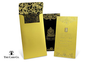 Gold Invitation Collection